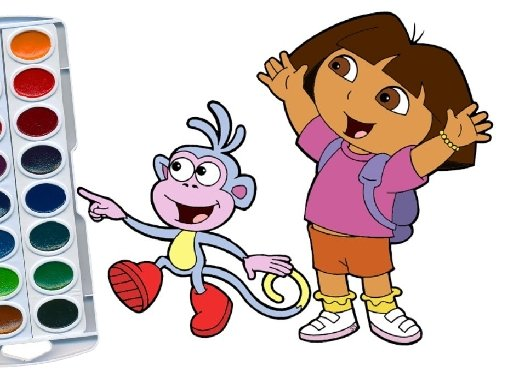 - Dora The Explorer Coloring Book - Play Game Online Free At Friv Friv  Classic Friv Original Friv4school Friv Old Jeux