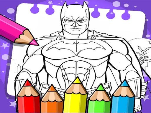 Batman Beyond Coloring Book – Desenhos para Colorir