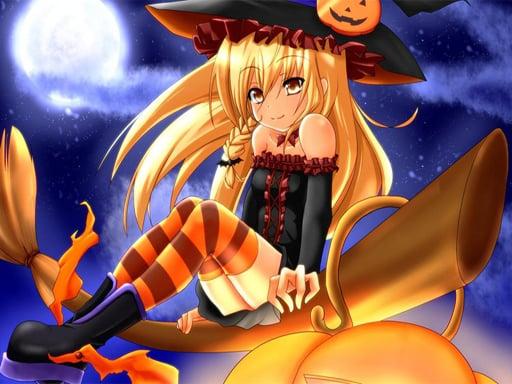 Play Anime Halloween Jigsaw Puzzle 2 Online