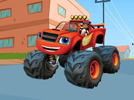 Play Blaze Monster Machines Differences Online