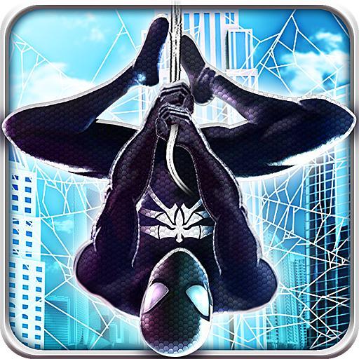 Spider Superhero Runner Game Adventure - Endless