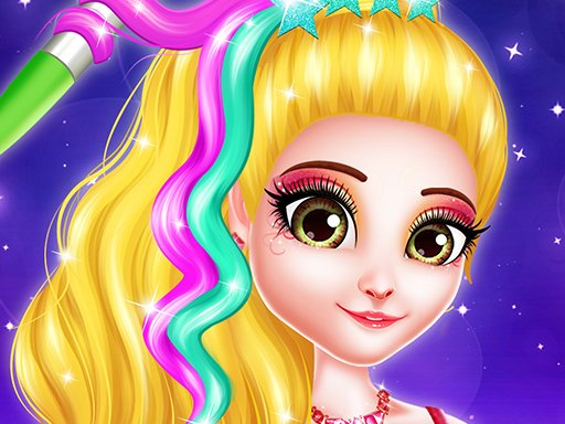 Hair Saloon Color by Number – Girls Fashion Games (выбери цвет волос по номеру)
