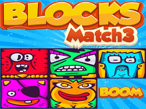 Monster Blocks Match3