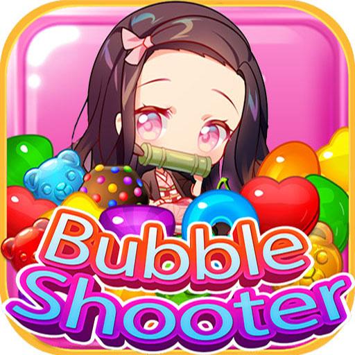 Nezuko Tanjiro Candy Bubble Shooter Rescue