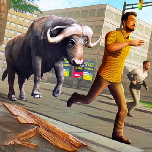 Angry Bull Attack Wild Hunt Simulator