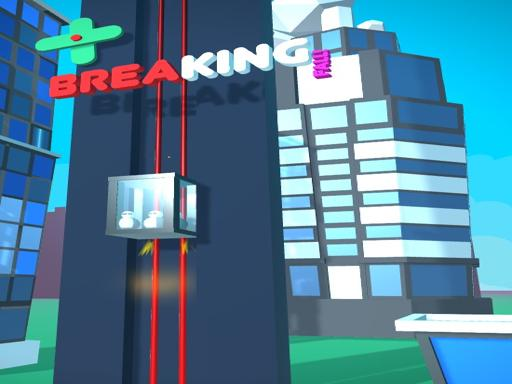 Elevator Fall - Lift Rescue Simulator 3D