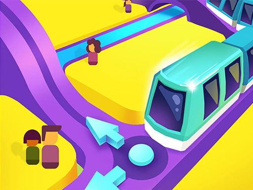 Поезд Такси 3D