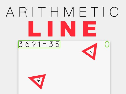 Arithmetic Line - Popular Games - Cool Math Games