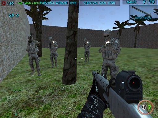 Play Survival Wave Zombie Multiplayer Online