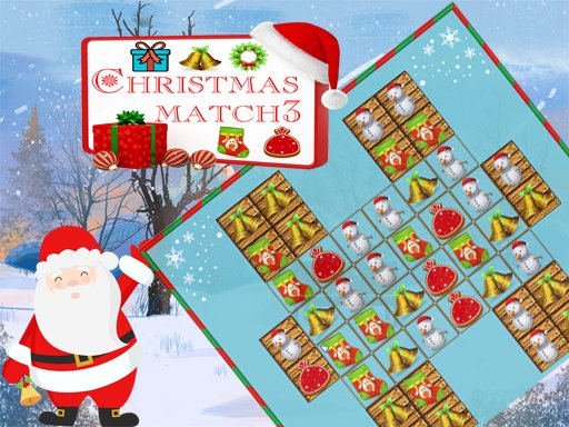 Christmas Match 3 Deluxe - Popular Games - Cool Math Games