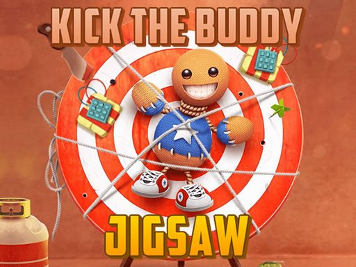 Play Kick the Buddy Jigsaw Online