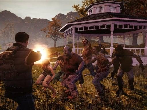 Стрельба по боевому выживанию зомби