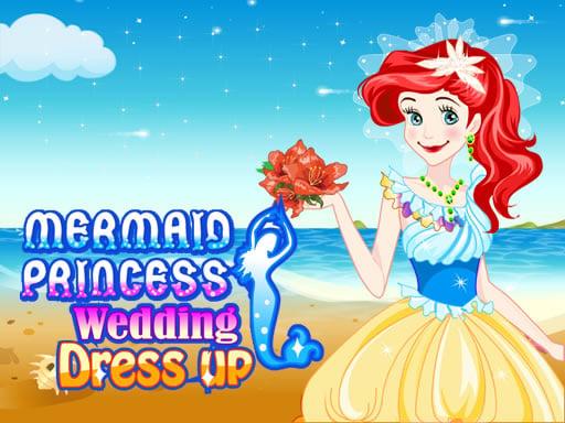Mermaid Princess Wedding Dress up