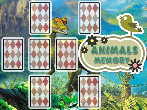 Animals Cards Memory