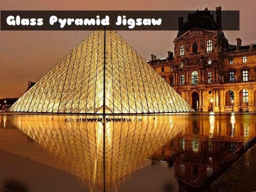 Play Glass Pyramid Jigsaw