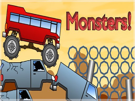 FZ Monster Track - Popular Games - Cool Math Games