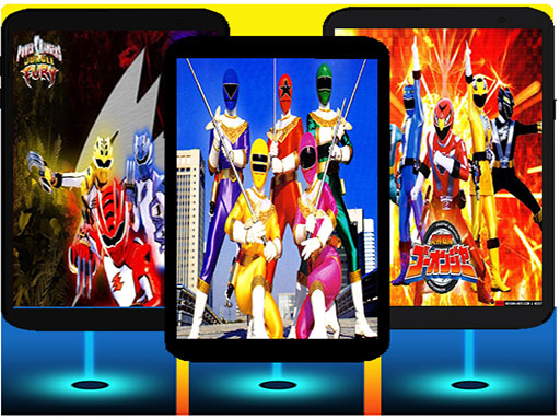 power ranger piano tiles