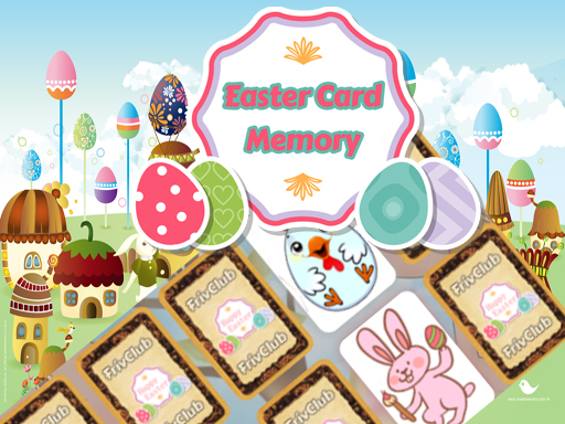 Play Easter Card Memory Deluxe Online