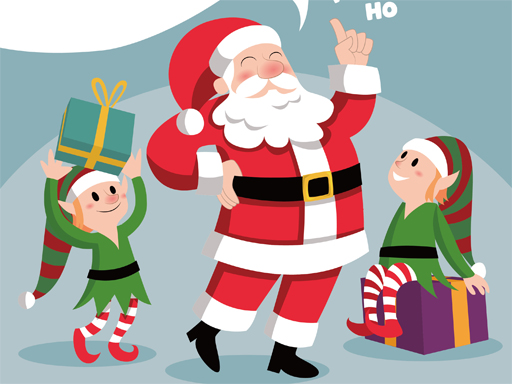 Santa Merry Xmas Puzzle