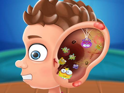 Ear doctor polyclinic - fun and free Hospital game