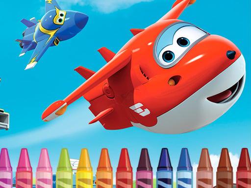 Раскраска Superwings