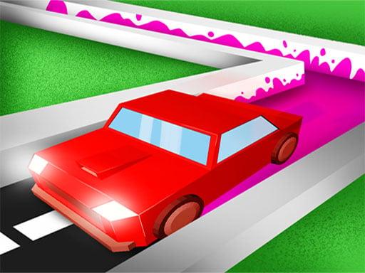 Play Roller Road Splat - Car Paint 3D
