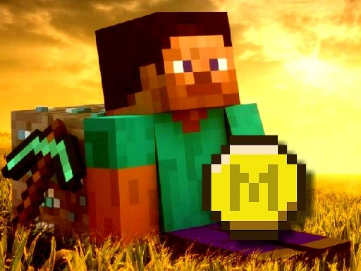 Play Minecraft Coin Adventure game online!