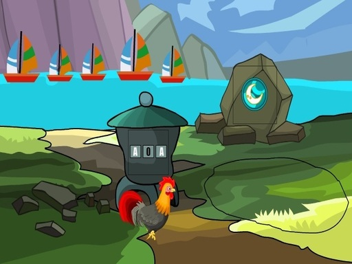 Rooster Hen Escape