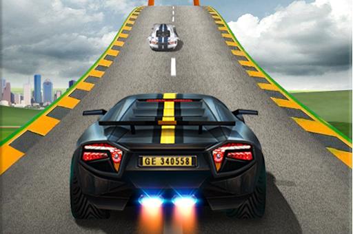 Impossible Car Stunts -Mega Car Ramp