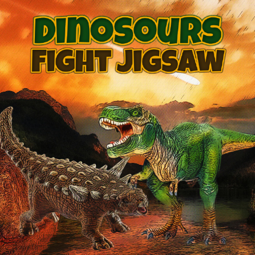 Dinosaurs Fight Jigsaw