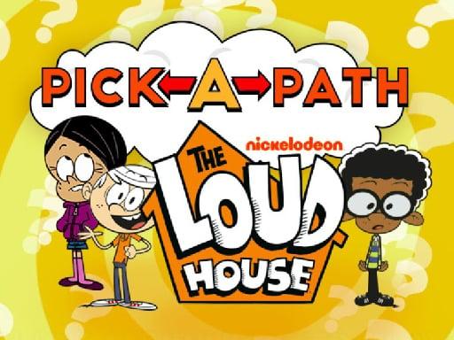 Выберите путь The Loud House