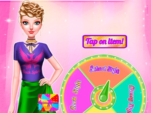 Dress Up Wheel - Popular Games - Cool Math Games