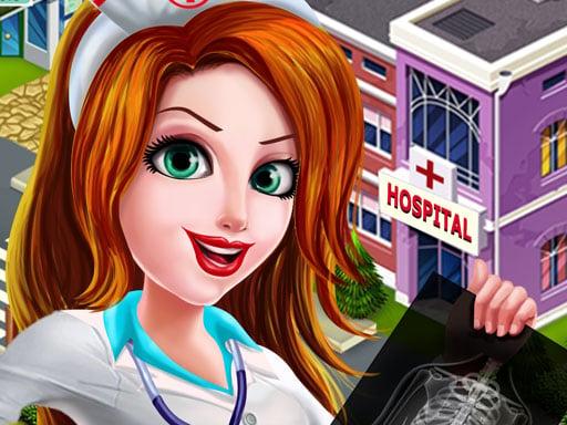 Медсестра одевается в больницу
