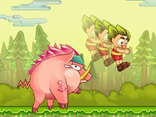Игра Super Bino Jump Adventure Jungle