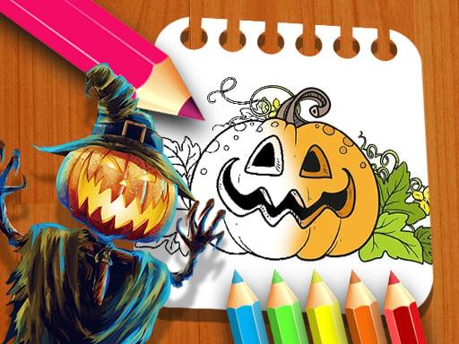 Hallowen Coloring Book