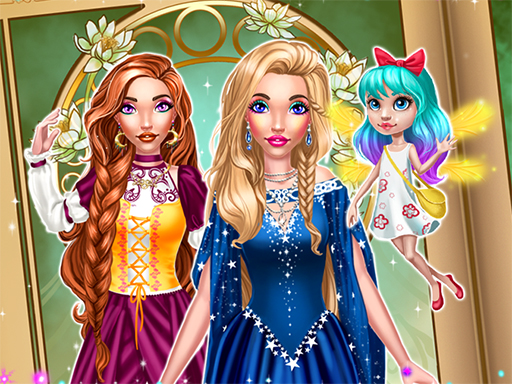 Magic Fairy Tale Princess Game - Popular Games - Cool Math Games