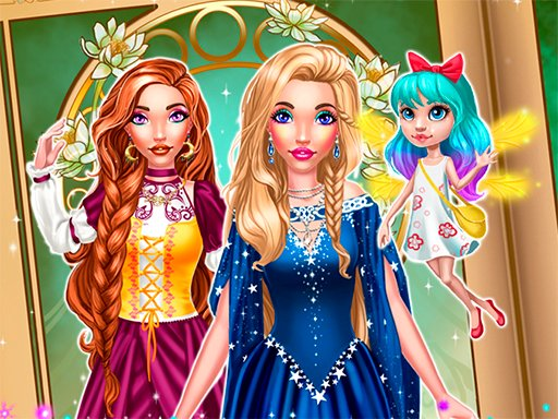 Play Magic Fairy Tale Princess Game Online
