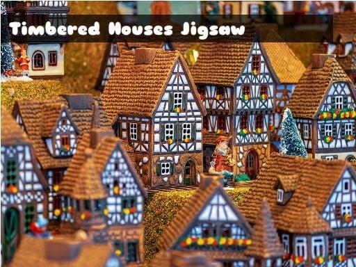 Timbered Houses Jigsaw