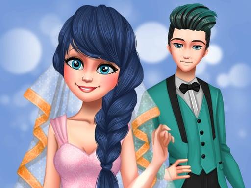 Пунктирная свадьба для девочек