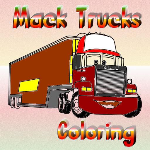 Mack Trucks Coloring