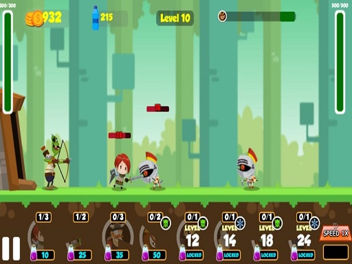 Play Castle Defense Battle Heroes