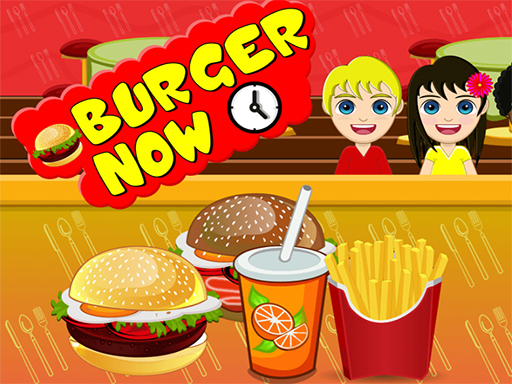 Play BURGER NOW COOKING