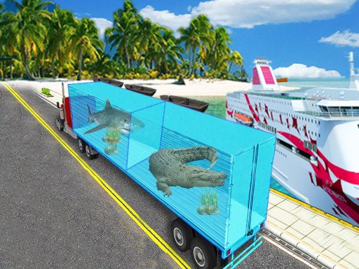 Sea Animal Transport Truck - Popular Games - Cool Math Games