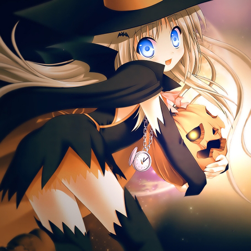 Anime Halloween Jigsaw Puzzle