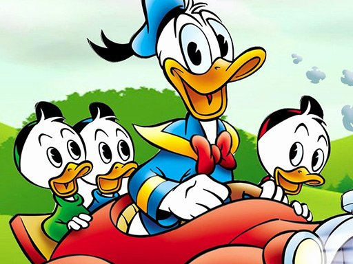 Play Donald Duck  Jigsaw Puzzle Collection