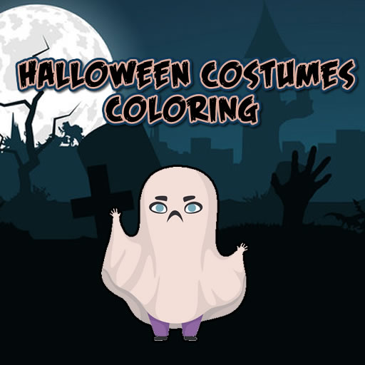Halloween Costumes Coloring