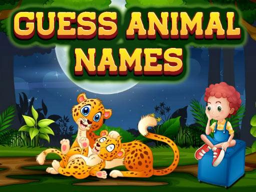 Угадай имена животных