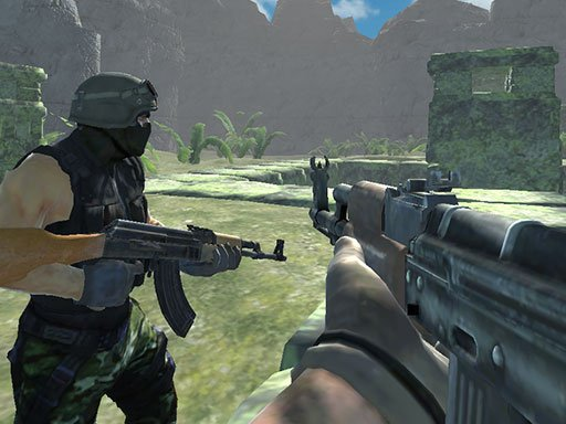 Play Ghost Team Shooter Online