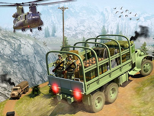 Army Cargo Transport Driving Online