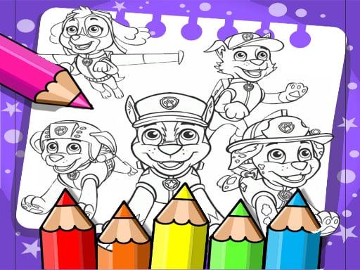 Paw Patrol Coloring Book – Desenhos para Colorir